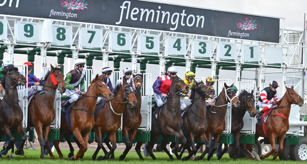 Flemington Jump Outs - 09 December 2016